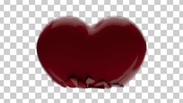 Thumbnail for Heart Crushing - 3D Heart Crushed
