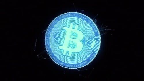 Bitcoin Hologram Loop