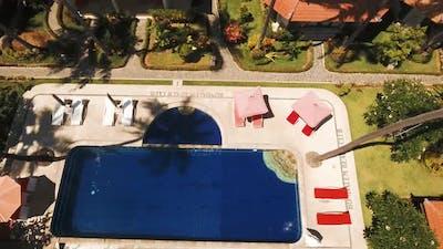 Hotel with Pool on the Sea Coast Bali
