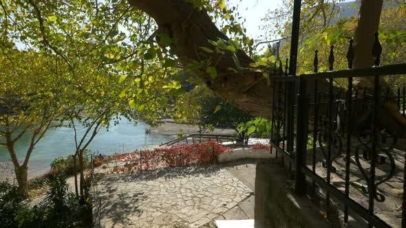 Neretva Riverbank in Mostar