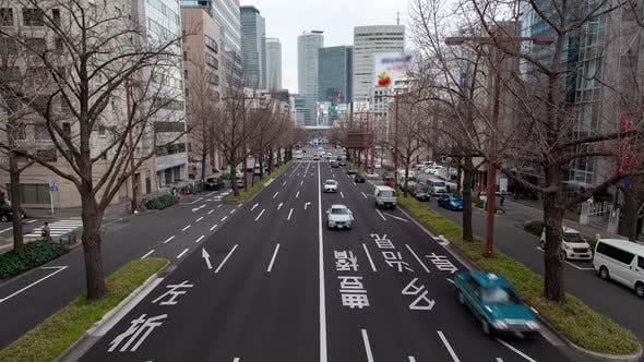 Cover Image for Nagoya Street Highway Markings and Traffic Timelapse