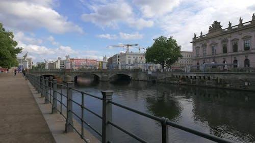 The Palace Bridge in Berlin