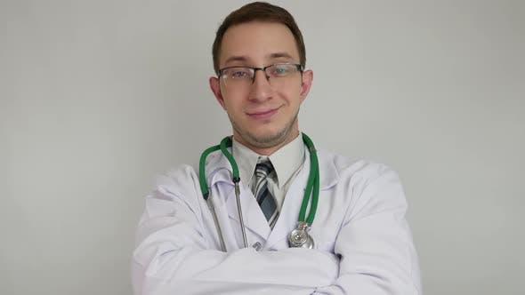 Positiver Arzt