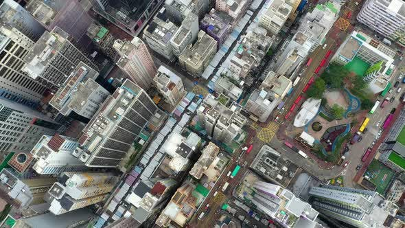 Hong Kong city from top