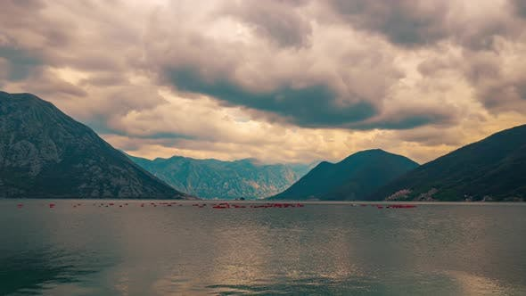 Thumbnail for Beautiful Landscape of Mountains Near the Water in Kator