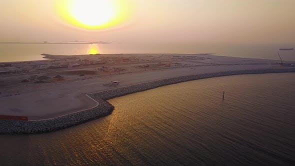 Thumbnail for Aerial View Of Dubai Seaport United Arab Emirates