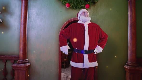 Thumbnail for Santa Claus Entering Magic Workshop