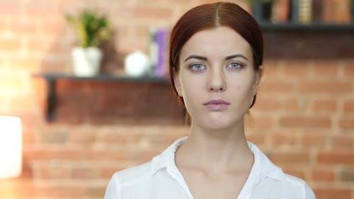 Portrait Of Young Woman, Loft