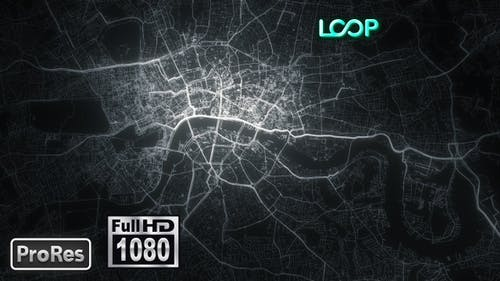 London - City Map - FullHD