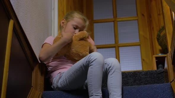Thumbnail for Little Girl With Teddy Bear
