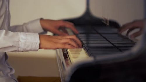 the Guy Plays the Piano