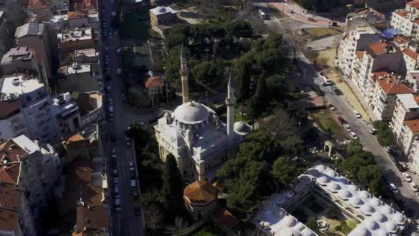 Thumbnail for Mosque And City Aerial View