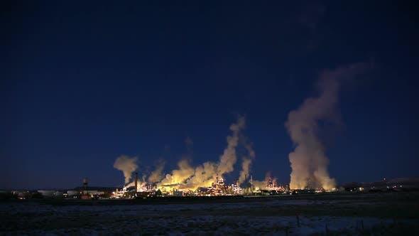 Thumbnail for Smoke stacks in Wyoming