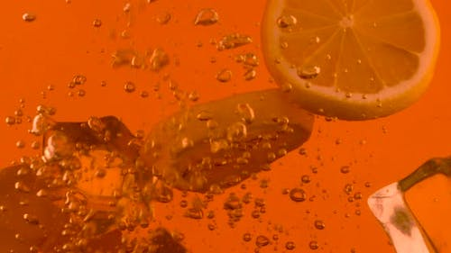 Closeup Process Of Making Drink
