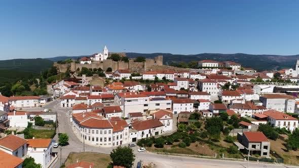 Thumbnail for Panoramablick auf Penela, Portugal