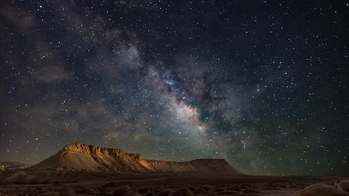A time-lapse of the Milky Way galaxy