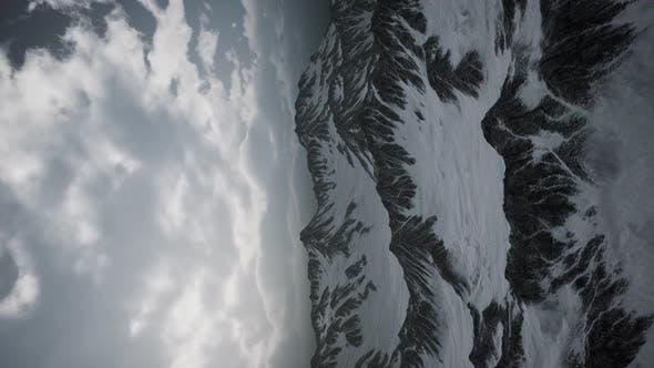 Storm Cloud Over Dolomites