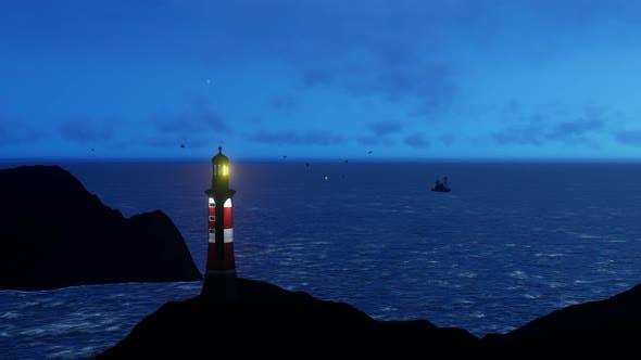 Lighthouse Night