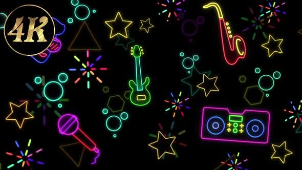 Thumbnail for Neon Doodle Music 02