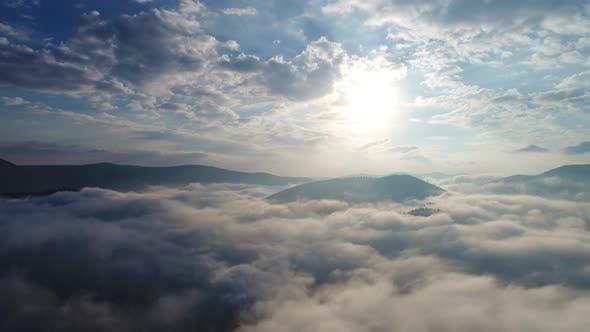 Thumbnail for Beautiful Clouds Over Carpatian Mountains