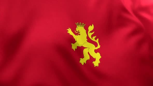 Zaragoza (Saragossa) City Flag (Spain)