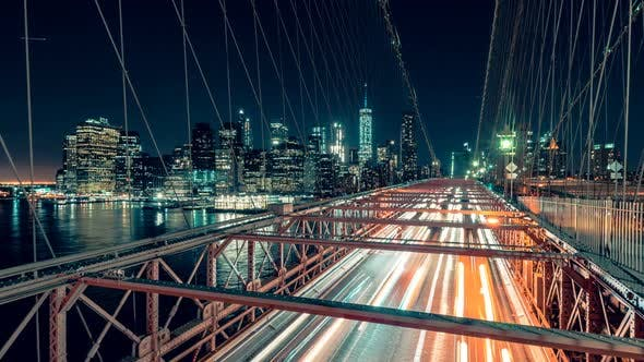 Thumbnail for Brooklyn Bridge at Night