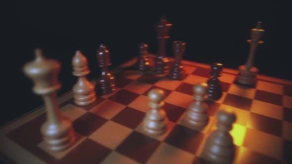 Chess Board Game Play V3 Hd