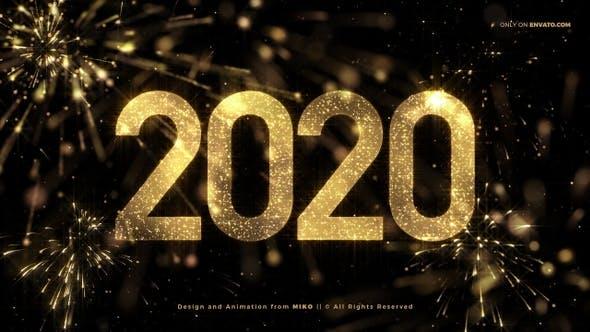 New Year Countdown 2020