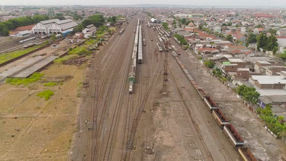 Thumbnail for Railway Station in Surabaya Indonesia