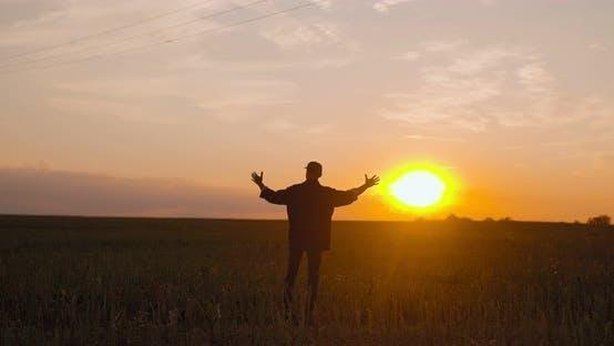 Thumbnail for Farmer Celebrating Success