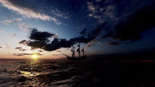 Piratenschiff-Tag