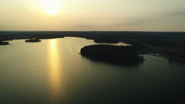 Thumbnail for Golden Lake Sunset