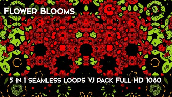 Thumbnail for Flower Blooms Background