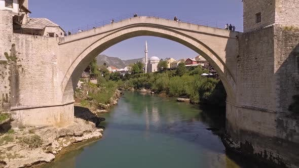 Thumbnail for Aerial View On The Old Bridge, Mostar, Bosnia And Herzegovina