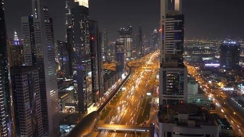 Modern Futuristic Cityscape Scenery