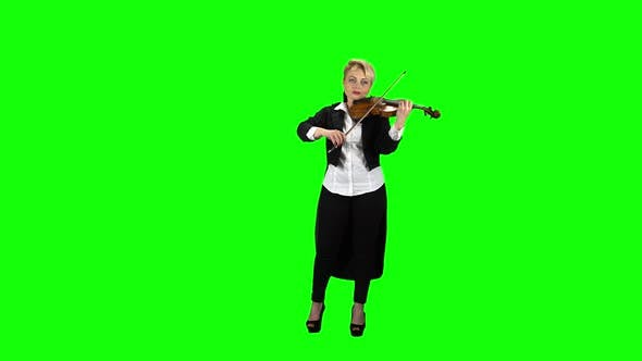 Thumbnail for Artist Plays the Violin