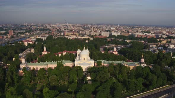 Thumbnail for Saint Petersburg Russia Morning City Aerial 146