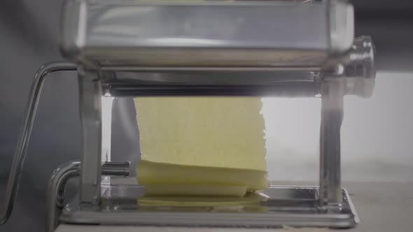 Thumbnail for Dough for pasta in pasta machine