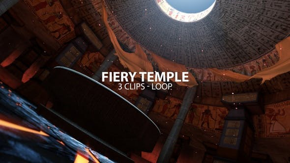 Thumbnail for Fiery Temple With Platform