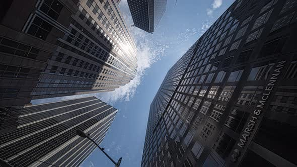 Skyscrapers Low Angle