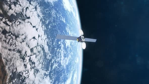 Thumbnail for Realistic Animation of a Satellite in Orbit of Planet Earth
