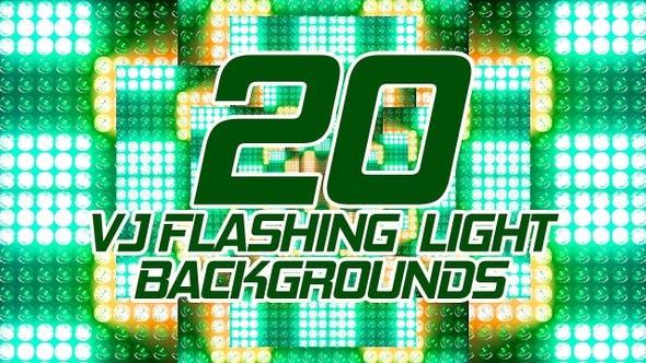 Vj Flashing Light Backgrounds