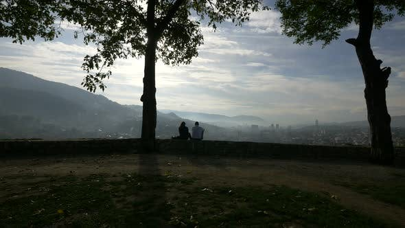 Thumbnail for Admiring the view from the Yellow Bastion