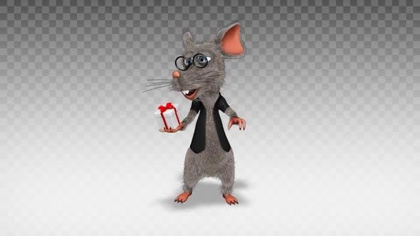 Cartoon Rat - Show Present