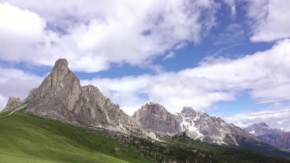 Thumbnail for Clouds over the Dolomites