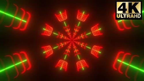 3 Radial Neon Form Vj Pack