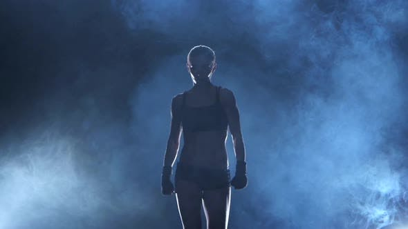 Thumbnail for Coming Out Female Boxer Which Has Muscular Body