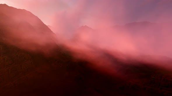 Thumbnail for Berg und Zeitraffer Hohe Wolken