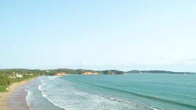 Flyover Mirissa Beach Coast