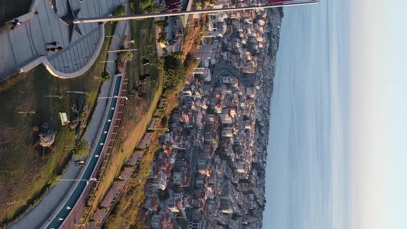 Thumbnail for Vertical Video Alanya Turkey  a Resort Town on the Seashore